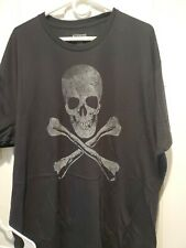 Ranger up mens t shirt Jolly roger poly cotton Black 3xl NEW!