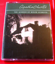 Agatha Christie The Murder Of Roger Ackroyd H.Poirot 2-Tape Audio Nigel Anthony