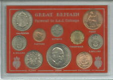 More details for great britain farewell to the £sd system pre-decimal 10 coin (bu unc) gift set