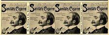 Dr Kissling 's pharmacien-cigarre pour sensibles FUMEUR * la publicité de 1903
