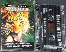 Various Born To Be Wild II CASSETTE SAXON THIN LIZZY STARSHIP LYNYRD  18 TRACKS