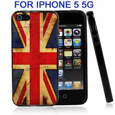 British Flag Union Jack Grunge For Iphone5 5G Case Cover