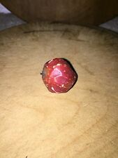 Early Antique Italian Alabaster Stone Fruit Miniature Early Red Strawberry NM+