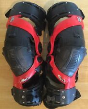 ASTERISK ULTRA CELL KNEE BRACE SUPPORT SIZE LARGE RED/BLACK 250R 450R 300EX EXC