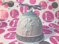Lladro Christmas Bell 1994 Ornament