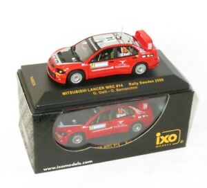 1/43 Mitsubishi Lancer WRC  Ralliart Italy  Rally Sweden 2006 #14  G.Galli