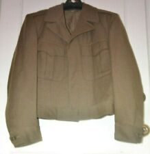 Vtg 1940's U.S. Army O.D. Wool Ike Field Jacket 36R Nat'L Guard green 1948 Clean