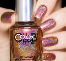 Color Club Just My Luck 1095 Halo Hues 2015 Holographic Holo FREEPOST Aus