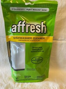 Affresh W10282479 Dishwasher Cleaner 6 Tablets - NEW SEALED