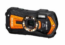 Pentax Waterproof Digital Camera Optio Wg-2Gps (Shiny Orange) Optiowg-2Gpsor