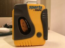 Sports Gpx Gran Prix C3201D Water Resistant Personal Cassette Player Tape - Rare