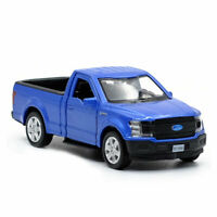 1:36 Ford F150 Pickup Truck Model Car Alloy Diecast Toy Vehicle Kids Gift Blue