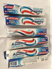 6 x 75ml Aquafresh Triple Protection Toothpaste Fresh & Minty