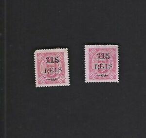 Angola sc#77,79 (1902) MH