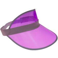 Visor retro cap solar gorra paraguas gorro transparente diafragma gorra Cappy-Pink