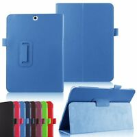 Leather Tablet Stand Flip Cover Case For Samsung Galaxy Tab A 9.7 T550 T555
