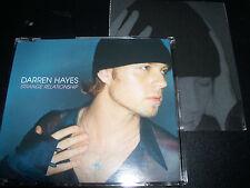 Darren Hayes Strange Relationship Rare UK Poster Pack CD Single