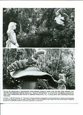 Natalie Gregory Jack Warden Sammy Davis Jr Alice In Wonderland Press Photo
