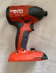 Hilti 22v 22 Volt Impact Driver SID4-A22