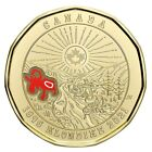 2021 Canada 125th anni of Klondike Gold Rush Colored Loonie