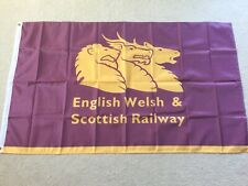 British Rail English Welsh Scottish Railway garage workshop flag banner