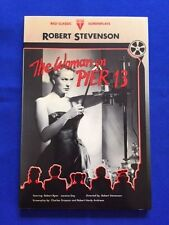 THE WOMAN ON PIER 13 - FIRST EDITION SIGNED BY CAST MEMBERS