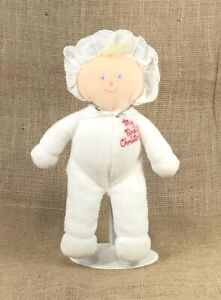 Vintage Eden My First Christmas Soft Doll Terry Cloth Plush Toy