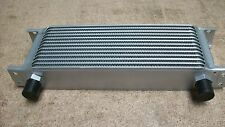 "13 row oil cooler, 1/2"" BSP unions, race rally Mk1 Mk2 Escort works RS EP-0003"