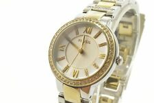 Fossil ES3503 Virginia Silver Dial Two-tone Steel Bracelet Ladies Watch