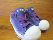 Diesel Exposure Low  Trainers  Size UK 12 Kids