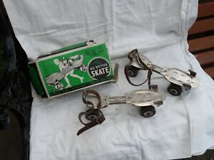Vintage Roller Skates from Davies - Double Ball Bearings with original box