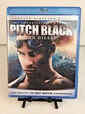 ~ Pitch Black The Chronicles of Roddick Unrated Directors Cut - (Blu-Ray) ~
