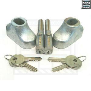 Replacement Roller Shutter Bullet Lock Oval Style Pin Locks Shop Door Security