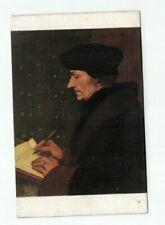 "Antique Art Lapina Paris Post Card ""Didier Erasme"" Holbein"