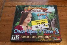 Amazing Hidden Object Games Once Upon A Time 3 Fantasy & Romance Video game NEW