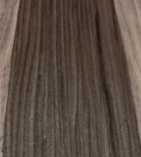 "Ebony Brown composite wood veneer 4"" x 10"" raw no backer 1/42"" thickness sample"