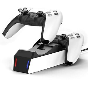 PS5 Controller Charger Stand Dual Sense Fast Charging Station Dock PlayStation 5