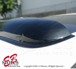 Sun Roof Moon Shield Roof Wind Deflector Visor For Mid Size Vehicle 3mm Thick