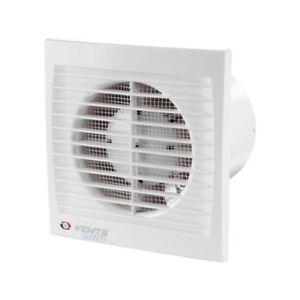 Badlüfter Ventilator 100 120 150 Timer Feuchtesensor mit Kugellager Silenta S