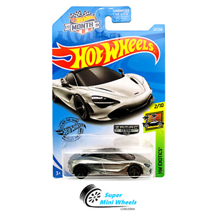 Hot Wheels 1:64 LOOSE McLAREN 720s PURPLE Custom SUPER w//Real Riders