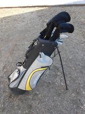 Dunlop REACTION Full Golf Set ⛳ Woods, Hybrid, Irons, Putter & Stand Bag