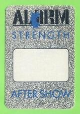 Alarm - Strength - Konzert-Satin-Pass - After Show - Schönes Sammlerstück
