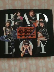 Kpop Album Red Velvet The Perfect Red Velvet Bad Boy