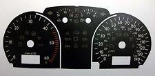 Lockwood VW Polo Mk4 (9N3) Diesel 140MPH/6000RPM BLACK Dial Conversion Kit C070B