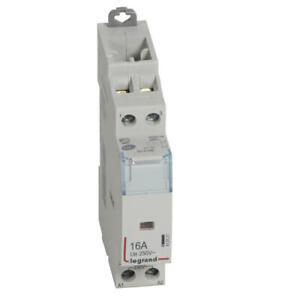 Contacteur de puissance CX³ bobine 230V~ - 2P 250V~ - 16A Legrand 412521