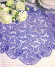 Wintry Out of the Blue Doily/Crochet Pattern Instructions Only