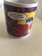 "Maxine Hallmark Mug ""I'd drink flavored tea if the flavor was ""Really Strong Cof"
