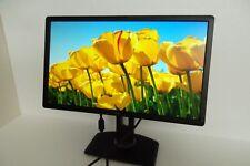 """Dell P2412H Monitor 24"""" Full HD LED 1080p  2-Port USB Hub DVI VGA P2412Hb KG49T"""