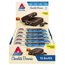 Atkins Advantage Chocolate Brownie Bars - Box of 15