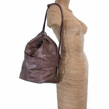 Leather Bag, Versatile Brie Genuine Leather Handbag, Oran Shoulderbag, Brown.
